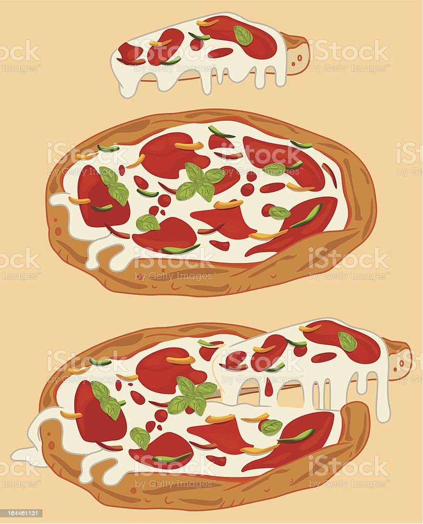 Italian pizza royalty-free italian pizza stock vector art & more images of baking