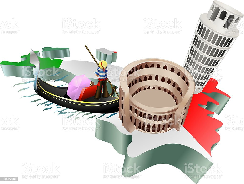 Italian tourism royalty-free italian tourism stock vector art & more images of capital cities