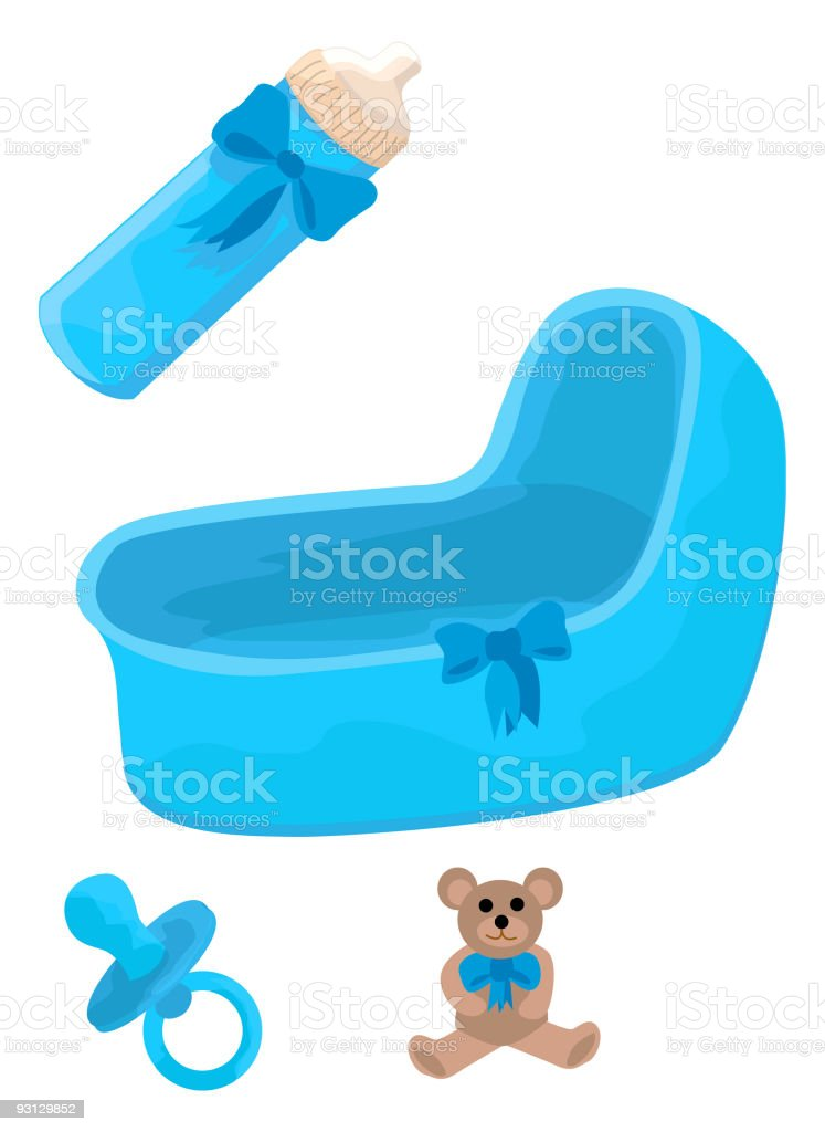 It's a Boy Too royalty-free stock vector art