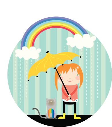 Its Raining-vektorgrafik och fler bilder på Dag