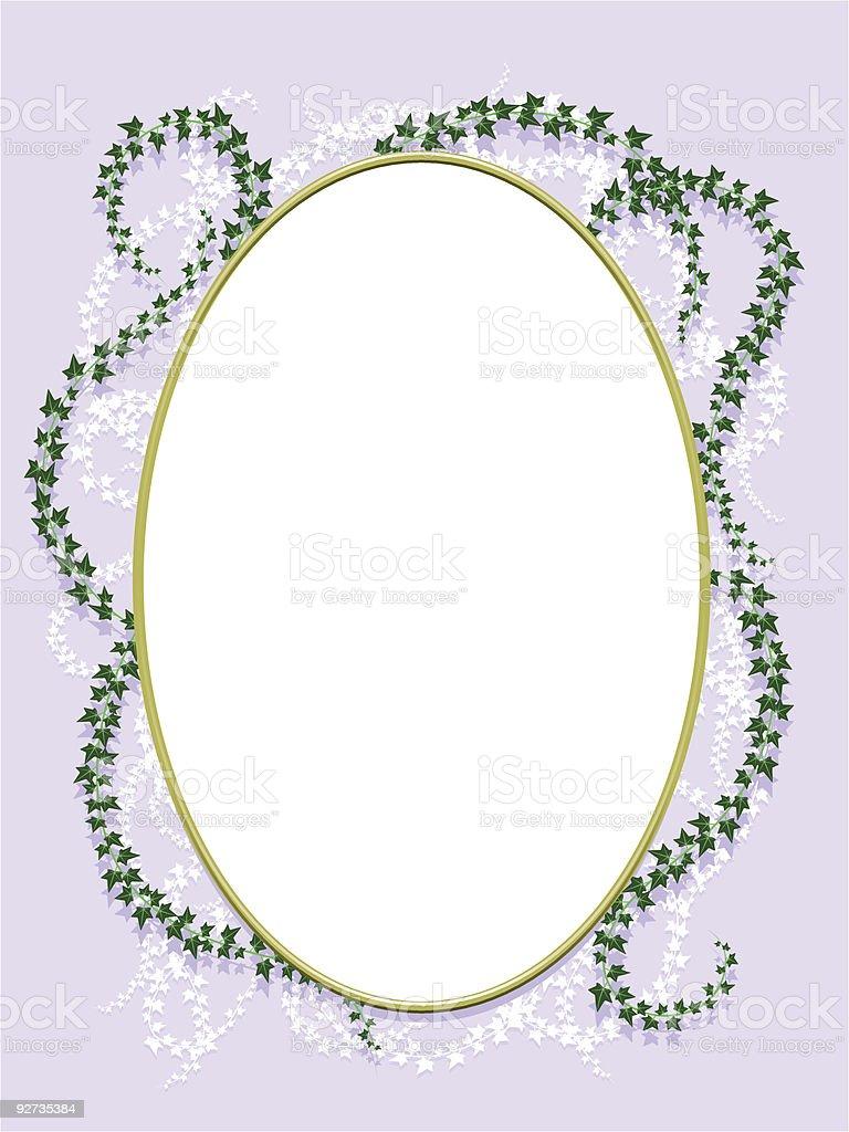 Ivy frame Lizenzfreies ivy frame stock vektor art und mehr bilder von blatt - pflanzenbestandteile