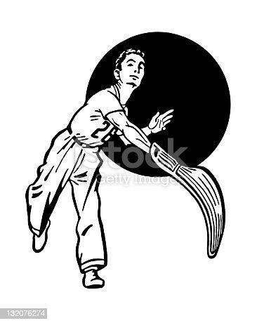 istock Jai Alai Player 132076274