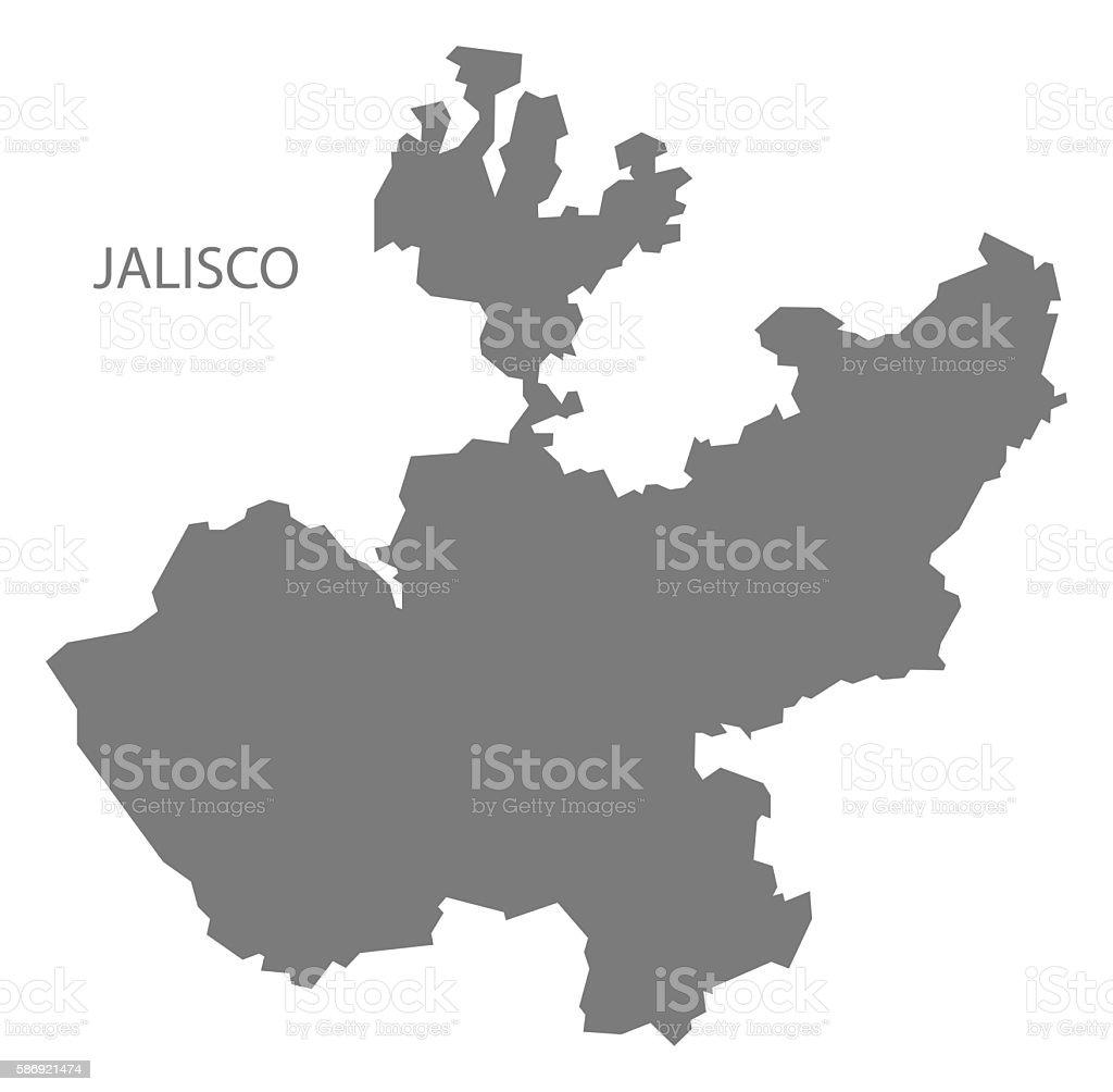 Ilustracin de jalisco mexico map grey y ms banco de imgenes de jalisco mexico map grey ilustracin de jalisco mexico map grey y ms banco de imgenes de gumiabroncs Images