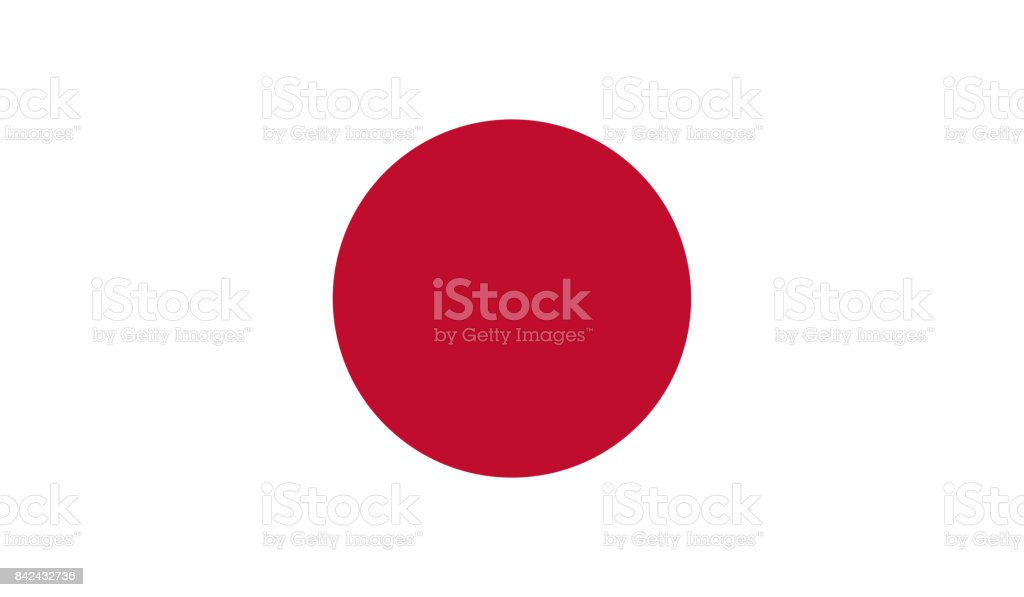 Japan Flag Stock Vector Art 842432736 Istock