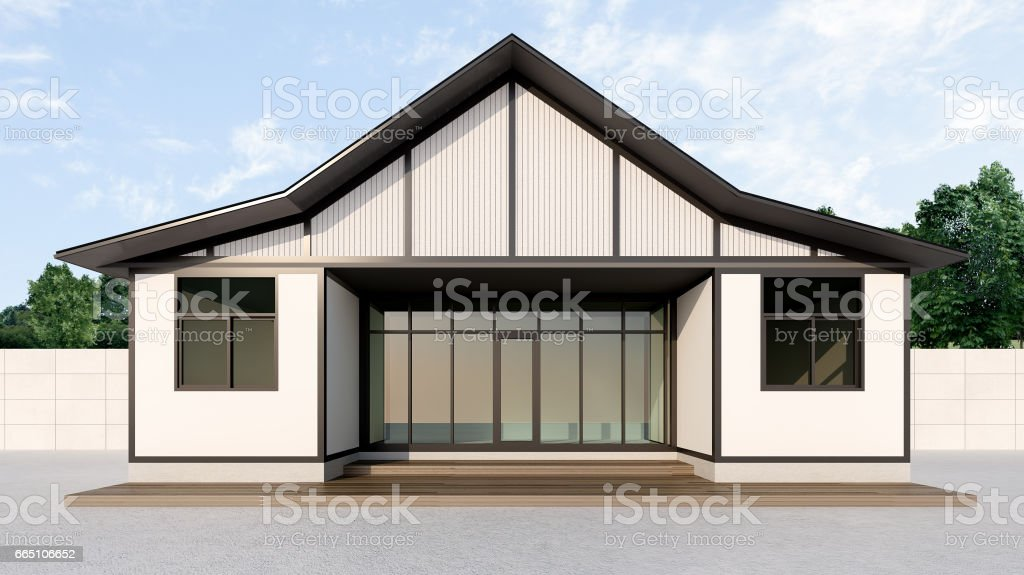 japanese container homes , 3d rendering vector art illustration