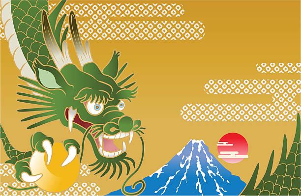 bildbanksillustrationer, clip art samt tecknat material och ikoner med japanese dragon - landformation