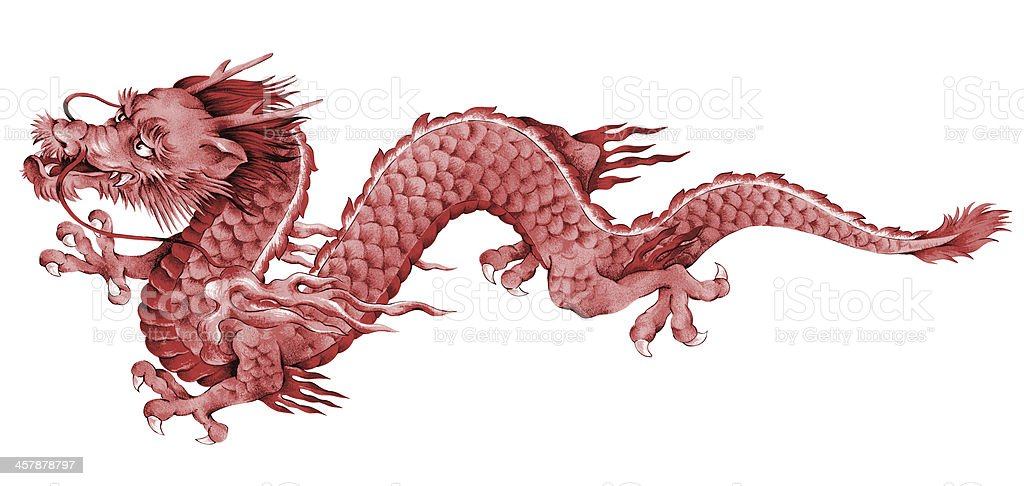 Japanese Dragon Stock Illustration - Download Image Now - iStock