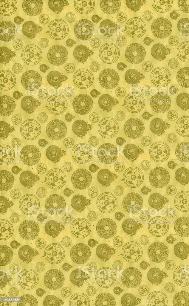 Japanese Fabric royalty-free stock vector art