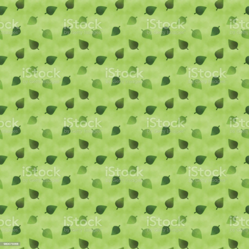 Japanese style green leaves seamless pattern royalty-free japanese style green leaves seamless pattern stock vector art & more images of backgrounds