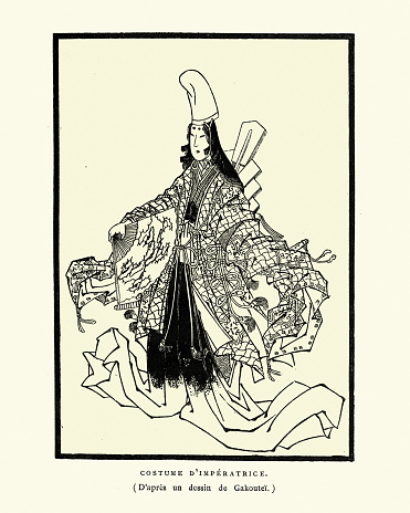 Japanese traditional costumes, Dress of the Empress