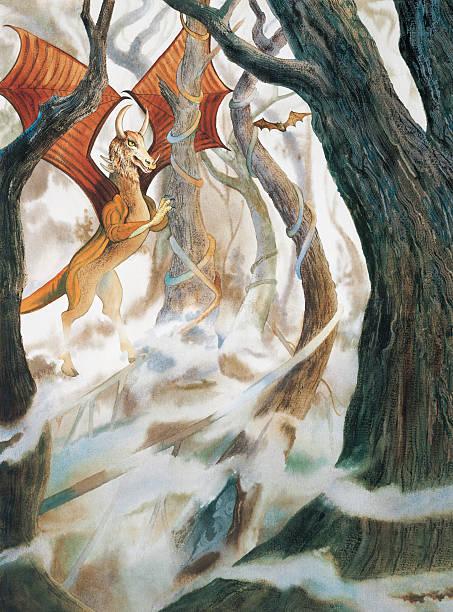 Jersey Devil vector art illustration