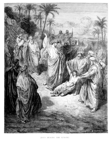Jesus Healing the Lunatic