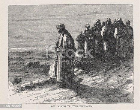 istock Jesus Mourns Jerusalem 1299183432