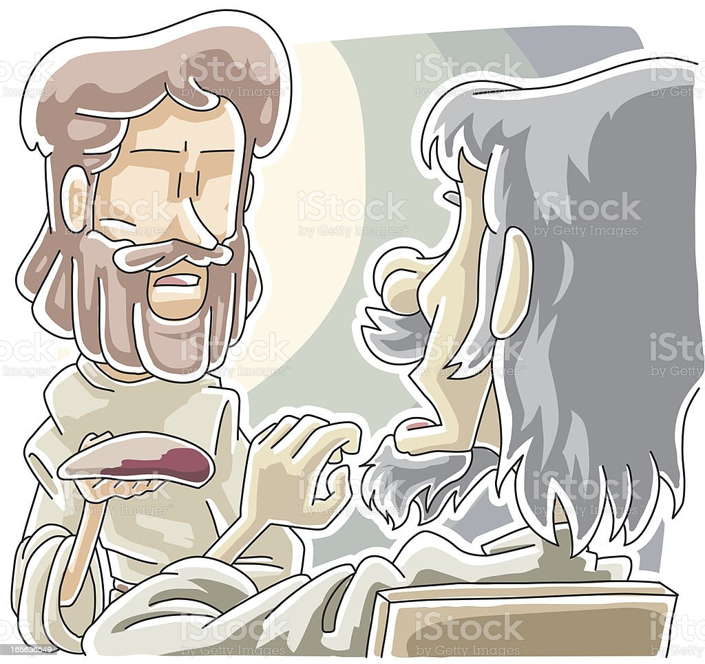 Jesus predicted Judas' betrayal