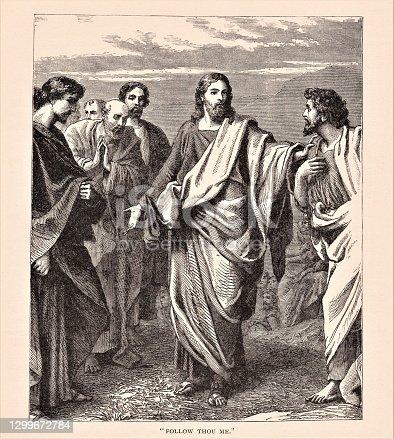 istock Jesus with Disciples 1299672784