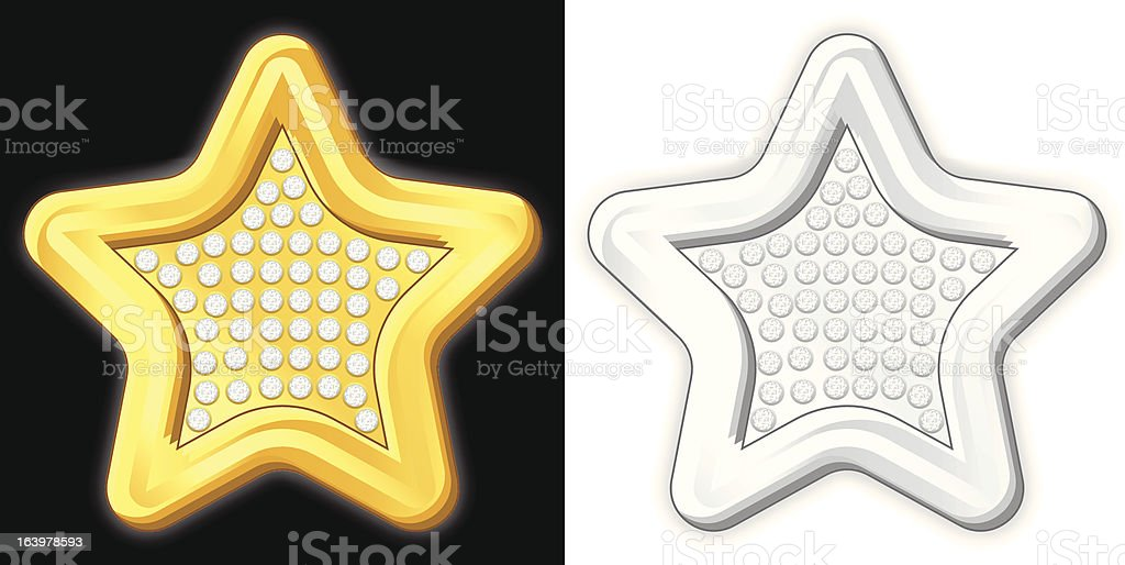 jewelry star royalty-free jewelry star stock vector art & more images of clip art