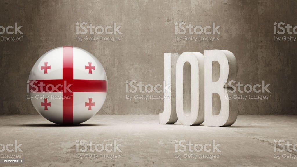 Job Concept 免版稅 job concept 向量插圖及更多 georgian flag 圖片