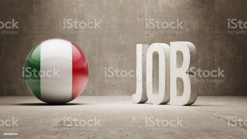 Job Concept royalty-free job concept 3차원 형태에 대한 스톡 벡터 아트 및 기타 이미지