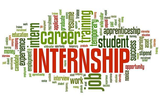 Job internship vector art illustration