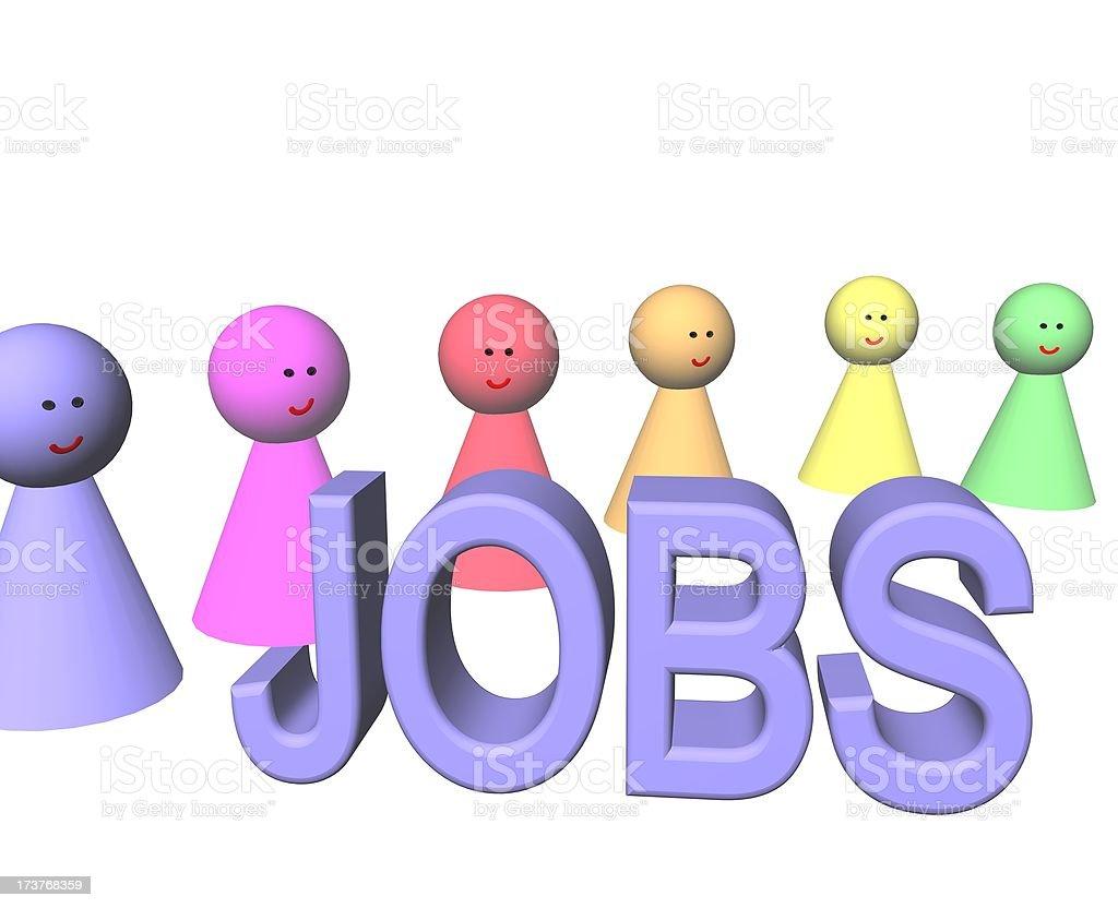 jobs royalty-free stock vector art