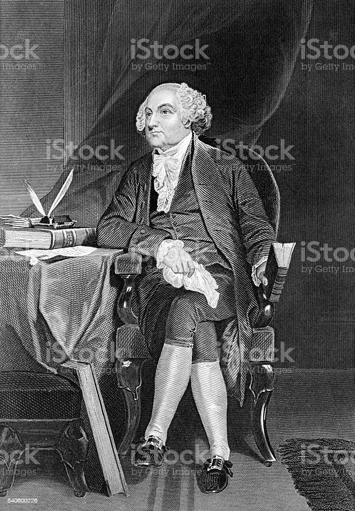Photo of an original engraving from the \'National Portrait Gallery of...