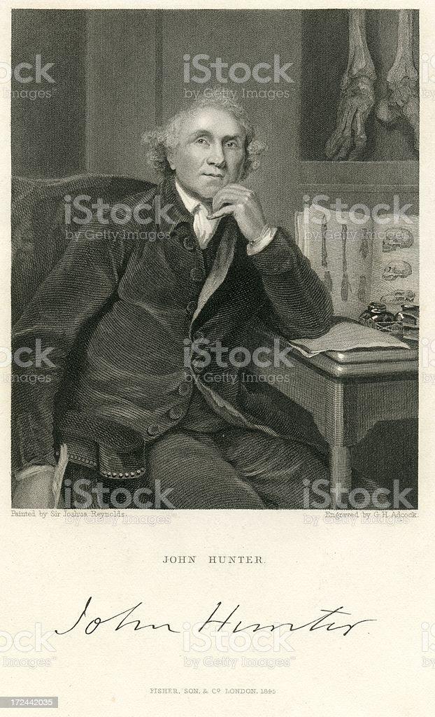 John Hunter Scottish Surgeon Founder Of Pathological Anatomy Stock ...