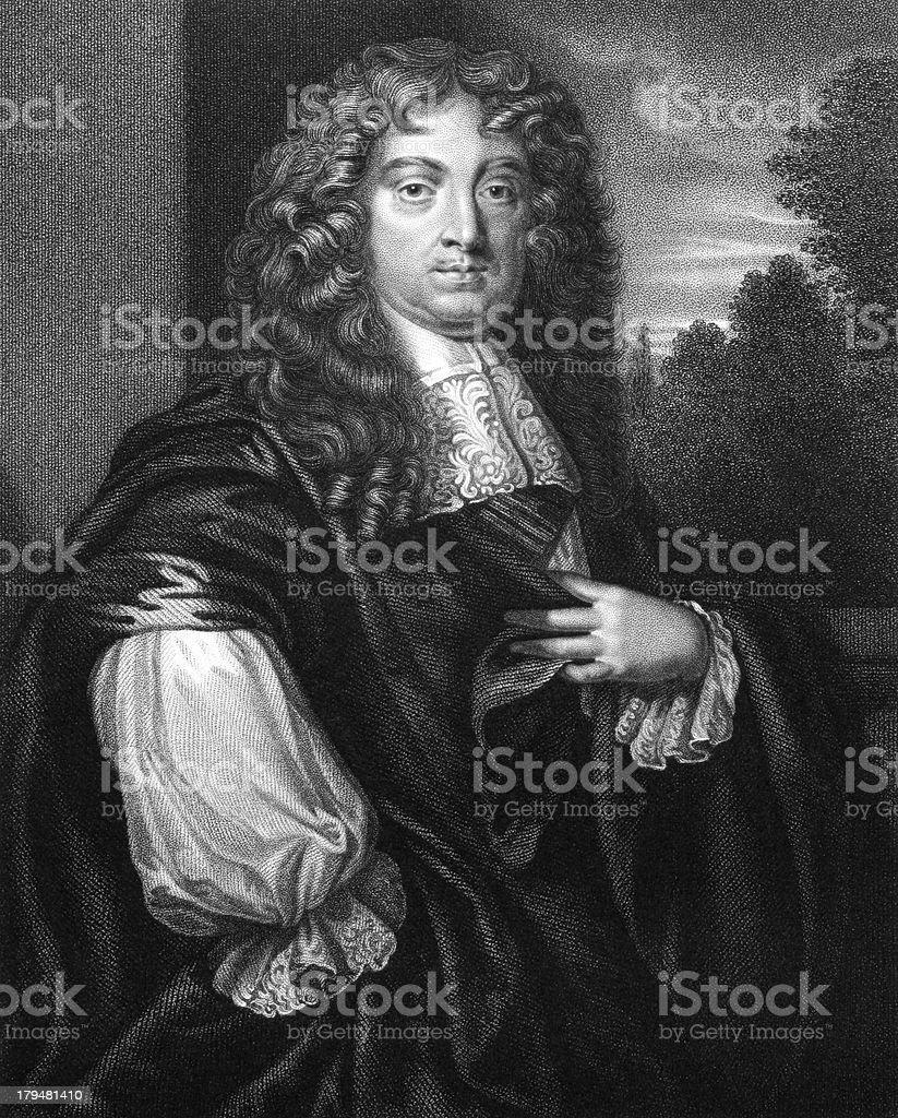 John Maitland, 1st Duke of Lauderdale royalty-free stock vector art