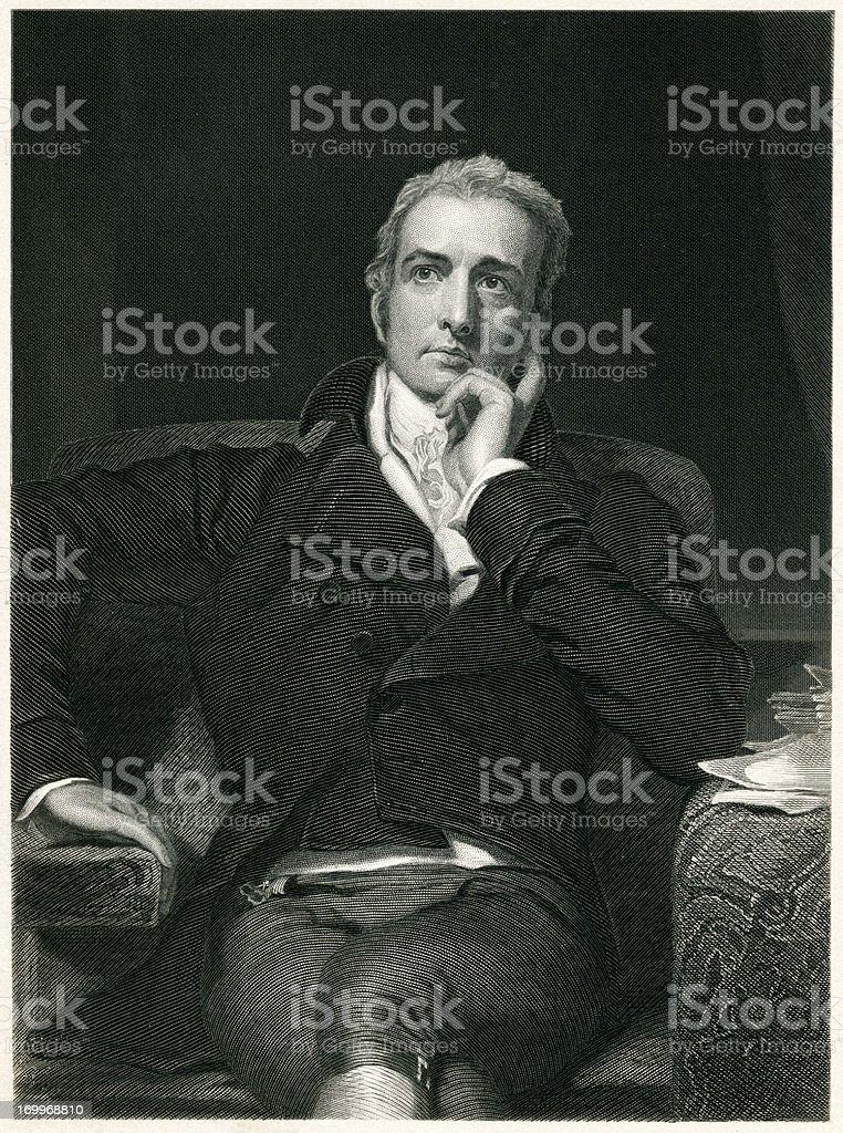 John Philip Kemble royalty-free stock vector art