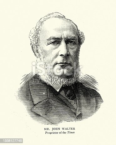istock John Walter an English newspaper publisher and Liberal politician 1338127745