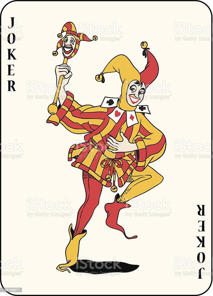 Jocker - Illustration vectorielle