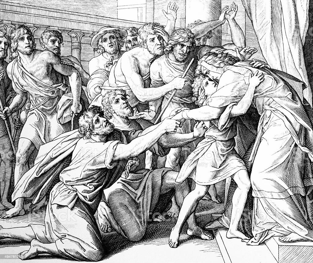 Joseph revealed royalty-free joseph revealed stock vector art & more images of antique