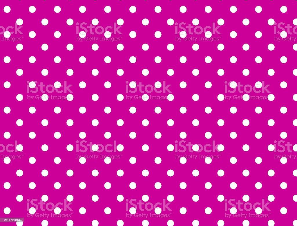 Jpg Sfondo Rosa Con Pois Bianchi Immagini Vettoriali Stock E Altre