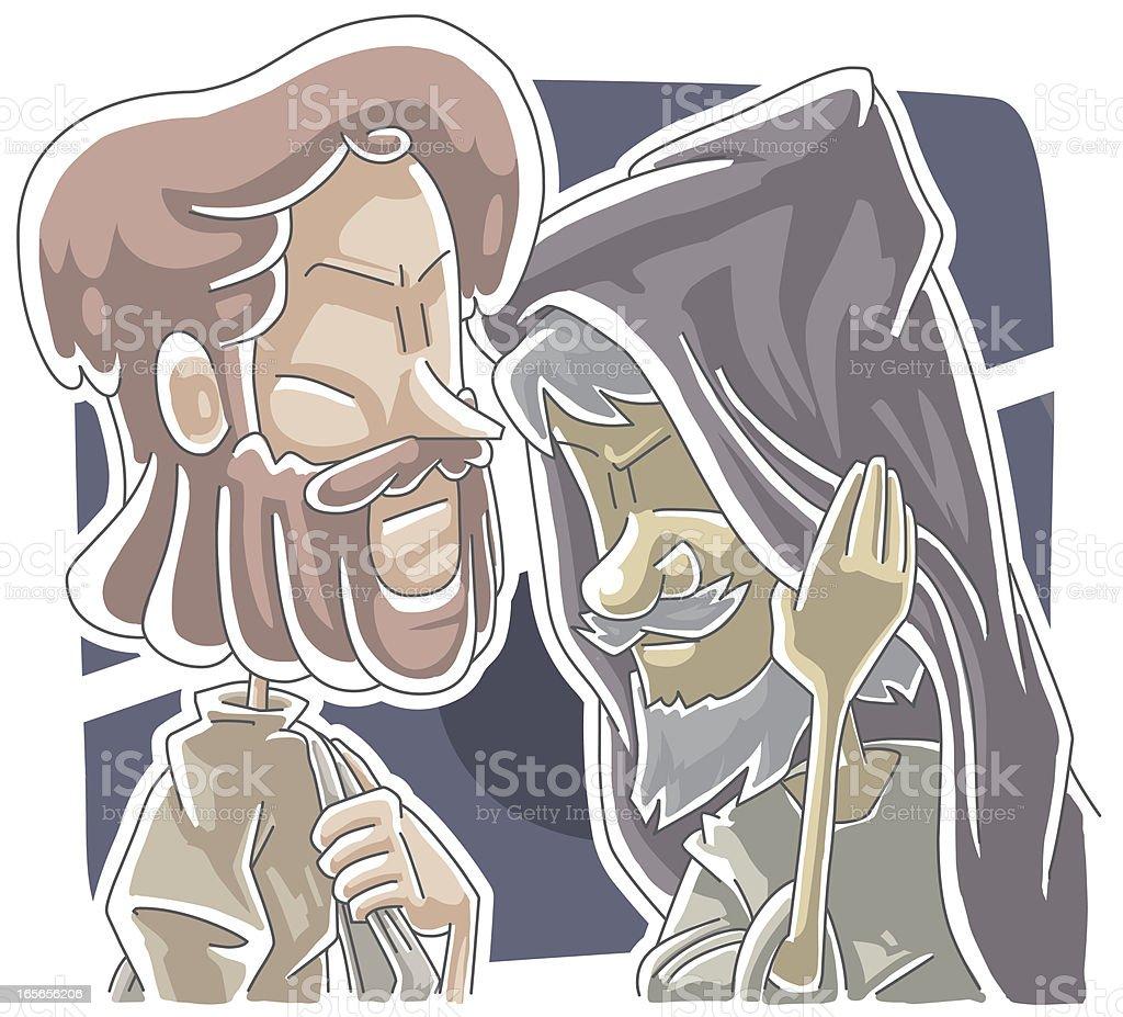 Judas' kiss
