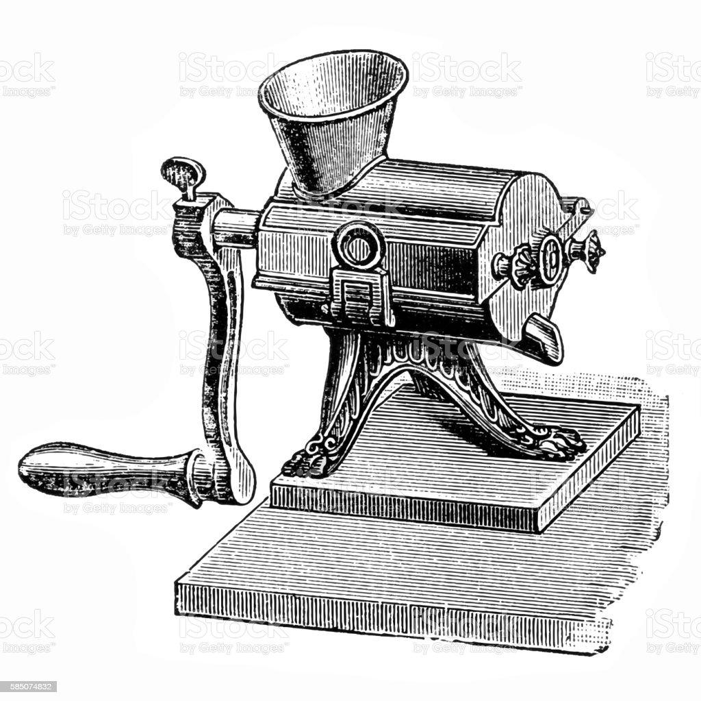 Juicer vector art illustration