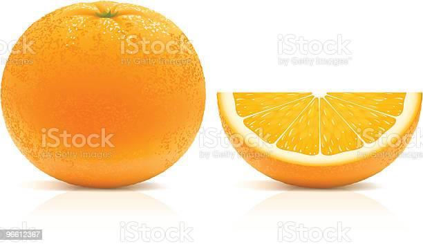 Juicy Orange-vektorgrafik och fler bilder på Apelsin