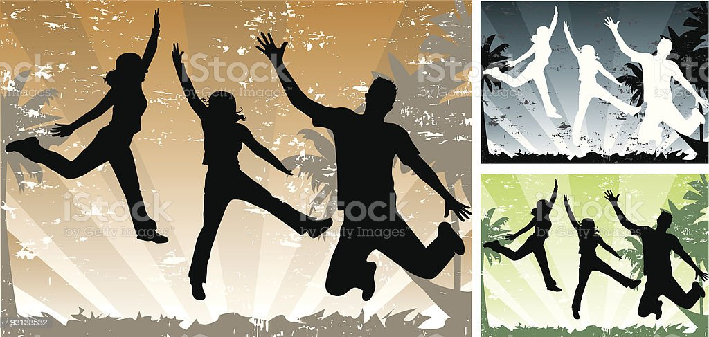 Jump! royalty-free jump stock vector art & more images of adult