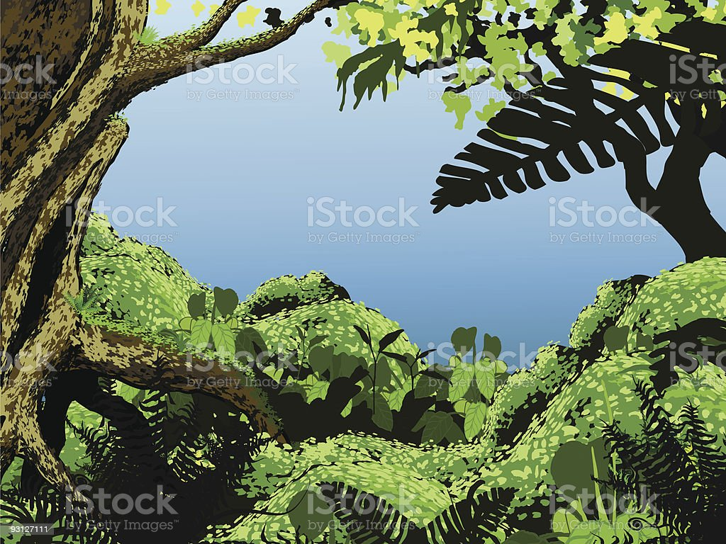 Jungle royalty-free jungle stock vector art & more images of ancient