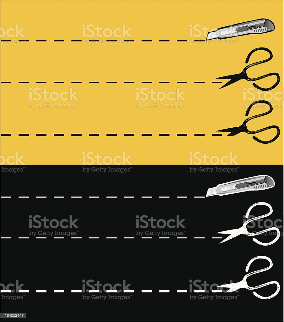 Just cut royalty-free just cut stock vector art & more images of copy space
