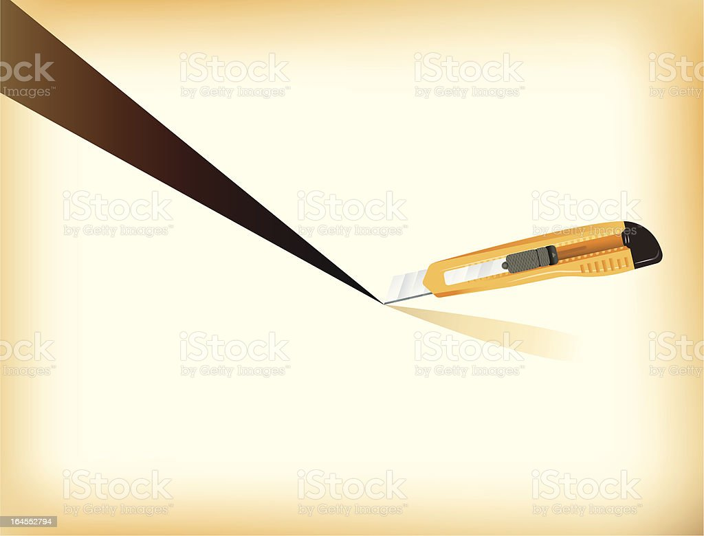 Just cut royalty-free just cut stock vector art & more images of cardboard
