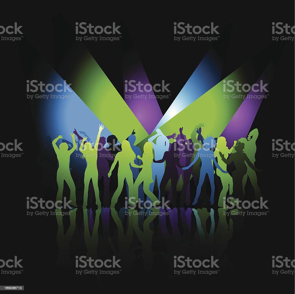 Just dance! royalty-free stock vector art