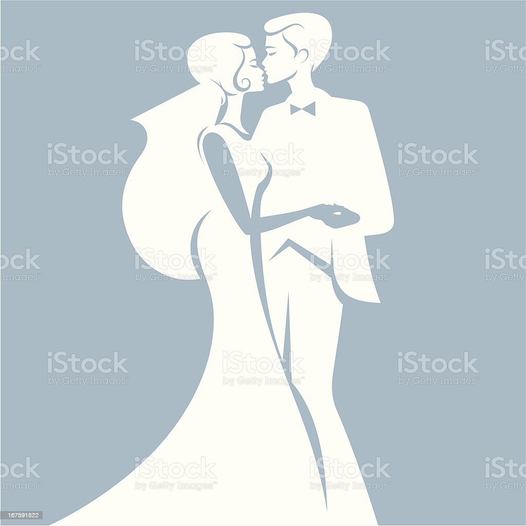 Just married. royalty-free just married stock vector art & more images of bonding