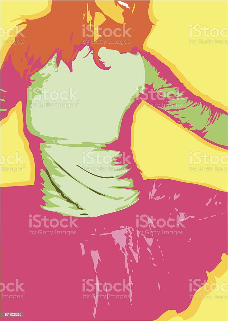 Just Party! royalty-free stock vector art