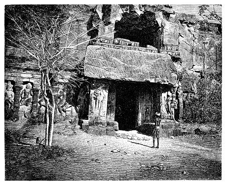 Kailasa temple (Kailāsa, Kailash, Kailasanatha), Ellora