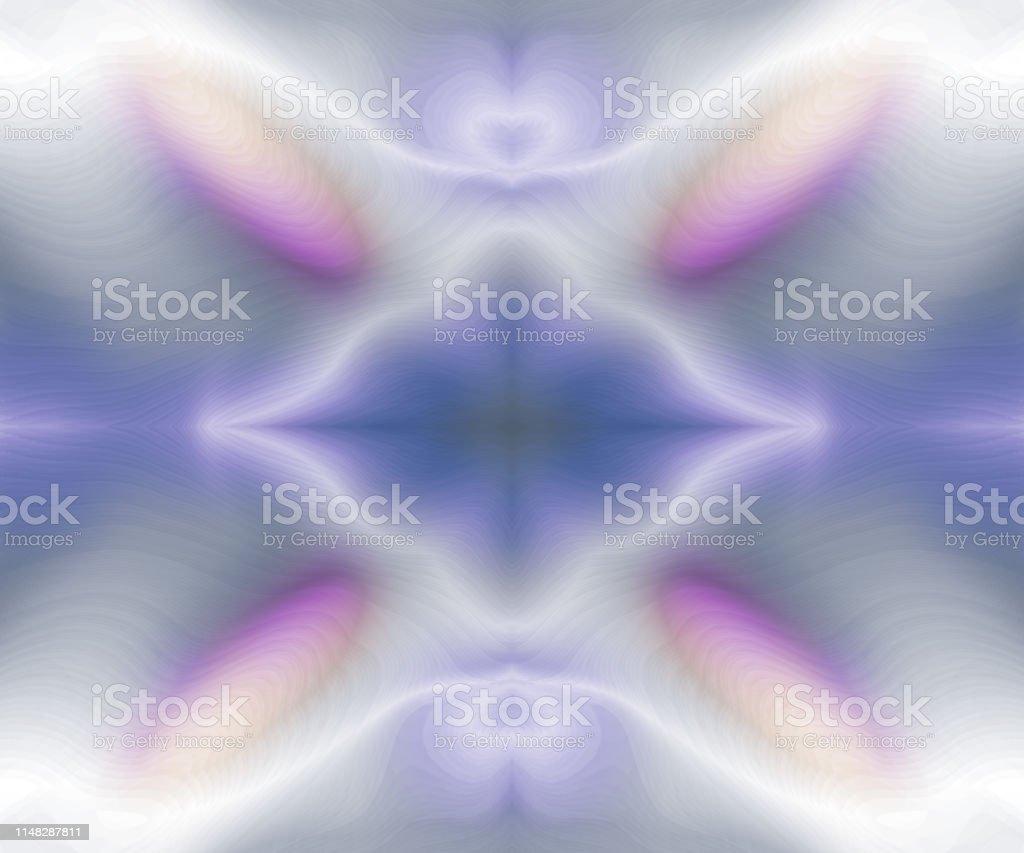 万華鏡カラフルな背景淡いパステルブルーピンクベージュの装飾の