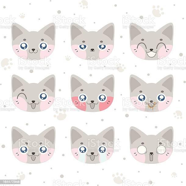 Kawaii smiley cat illustration id164472948?b=1&k=6&m=164472948&s=612x612&h=x93aaw7qluiwuah69io5kwxib9pq3kxpnoebwnn b5q=