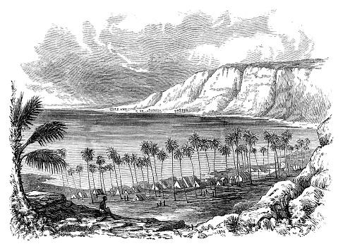 Kealakekua bay in Hawaii