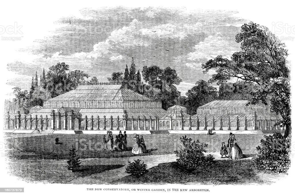 Kew Gardens royalty-free kew gardens stock vector art & more images of 1860-1869
