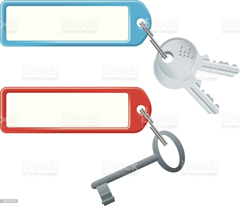 key case royalty-free stock vector art