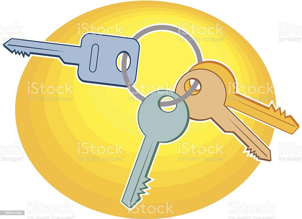 Les clés - Illustration vectorielle
