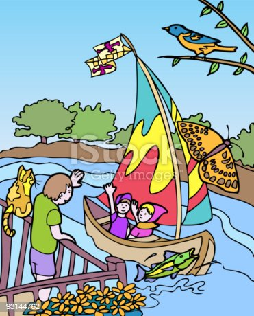 istock Kid Adventures: Visit to Maryland 93144762